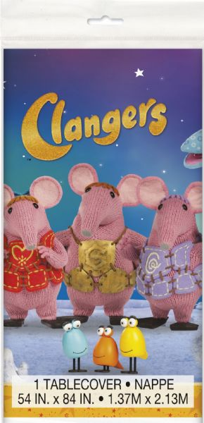Clangers Plastic Tablecover